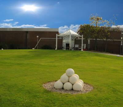 Beispiel: Außenansicht - Garten, Foto: Rheingoldhalle Mannheim.