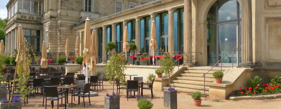 Beispiel: Restaurant Terasse, Foto: Lingnerterrassen.
