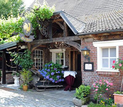 Beispiel: Vorderansicht, Foto: Landgasthof Gut Hahn.