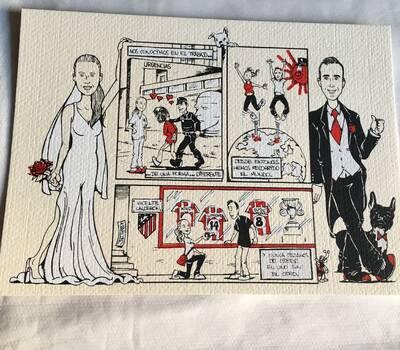El coyote invitaciones de boda bodas invitaciones de boda originales y divertidas con el retrato o la historia altavistaventures Images