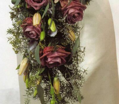Beispiel: Wunderschöner Brautstrauß, Foto: Florales Ambiente.