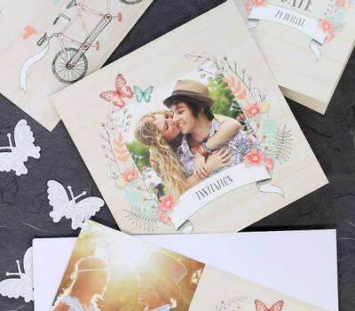 Cartes de mariages de la collection