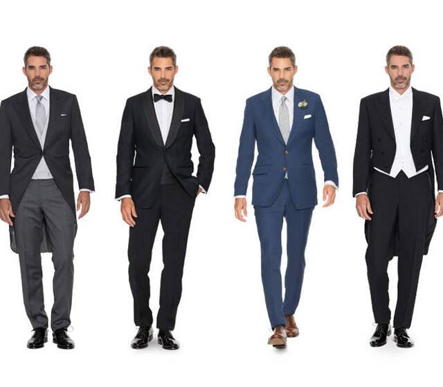 Hochzeit-Outfits
