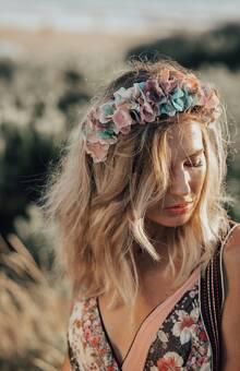 Diadema de Flores modelo Primavera