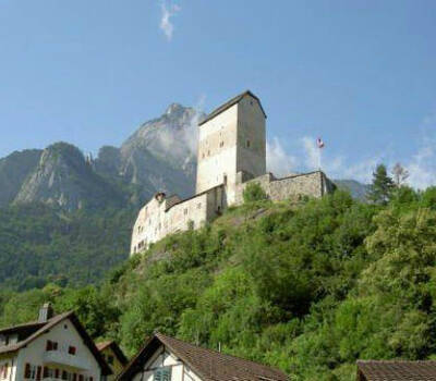 Beispiel: Außenansicht, Foto: Schloss Sargans.