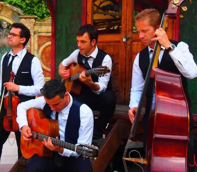Quartet Jazz manouche de Just for Cab'  Paris 2015