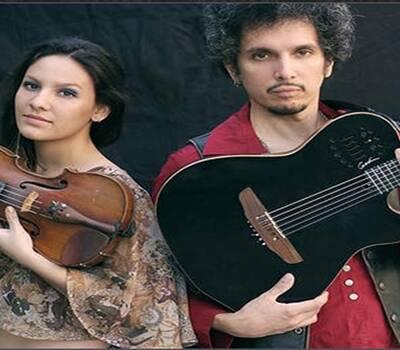 Duo musical Guitarra &violín Ideal para tu coctel , momento intimo.