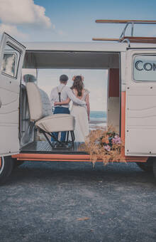 Un bond dans le temps avec un Combi VW // AnouchkaPhotographe