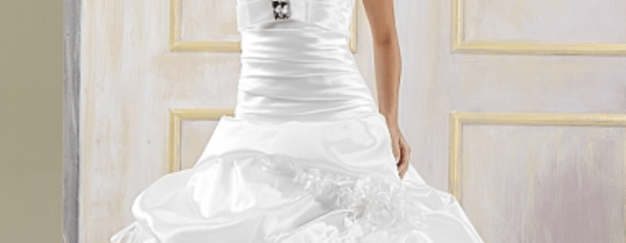 Beispiel: Brautkleid, Foto: La Majestè.