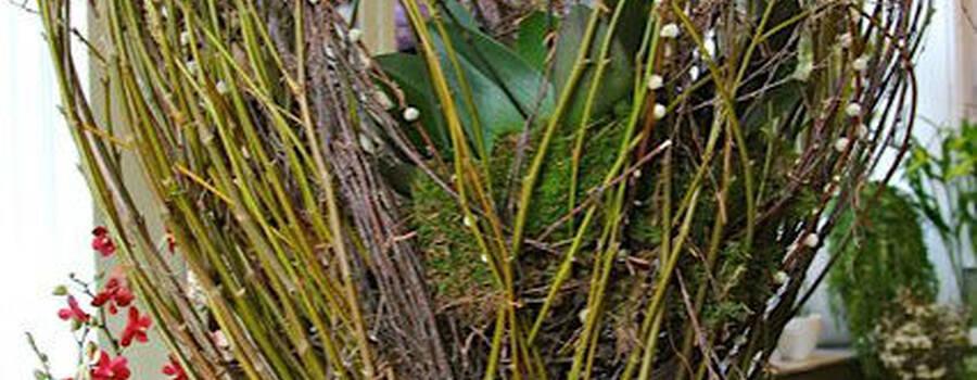 Beispiel: Blumendekoration, Foto: Kureck Floristik.