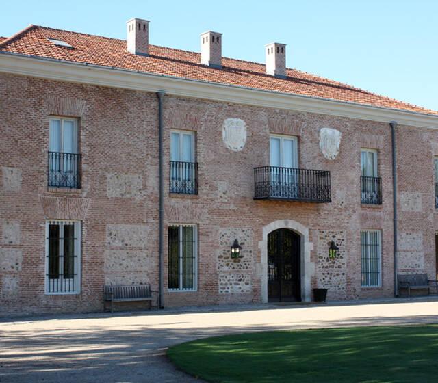 Vista de la fachada exterior