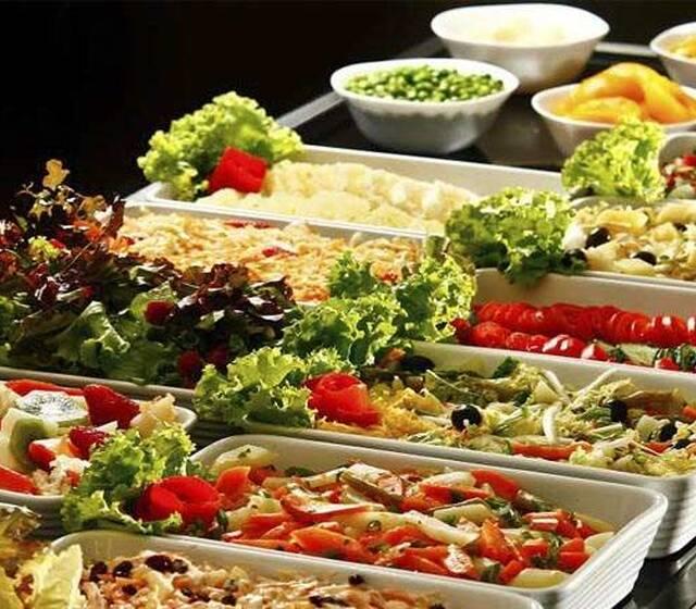 Gregos buffet ponto de saladas