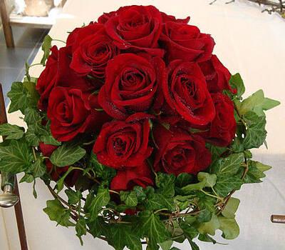 Beispiel: Einzigartige Hochzeitssträuße, Foto: Blütenreich.