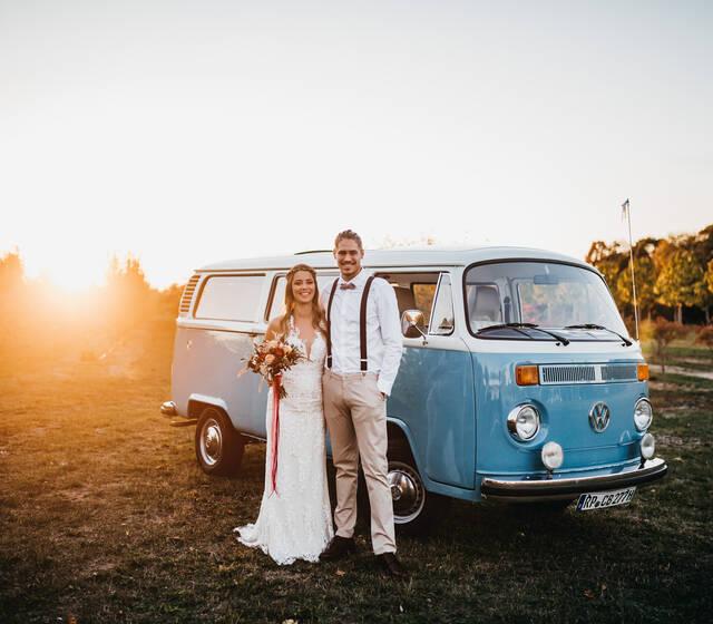 Boho-Hochzeit an der Bergstraße