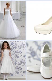 Bruidsmode, schoenen en kinderkleding