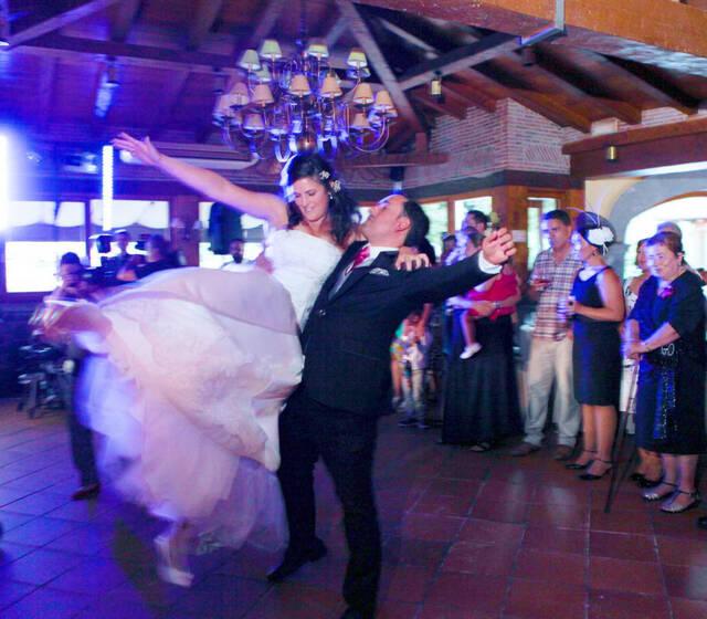 Baile de los novios.