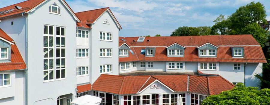 Beispiel: Außenansicht, Foto: Nestor Hotels.