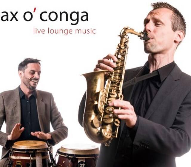 Saxophonist - sax o' conga - Hochzeitsband