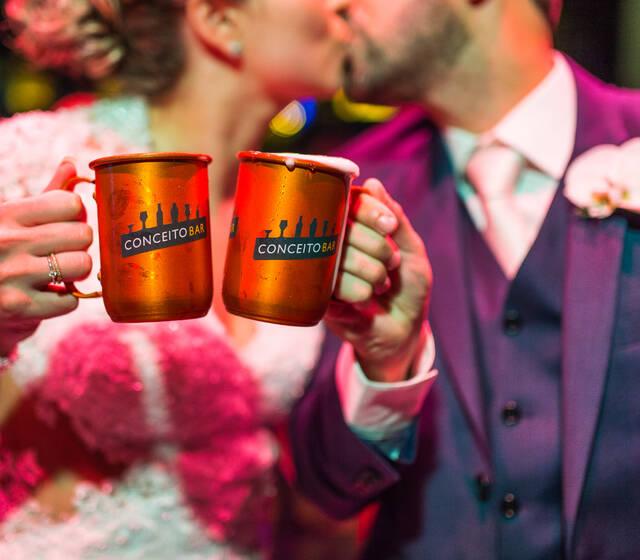 Moscow Mule no Casamento - Conceito Bar