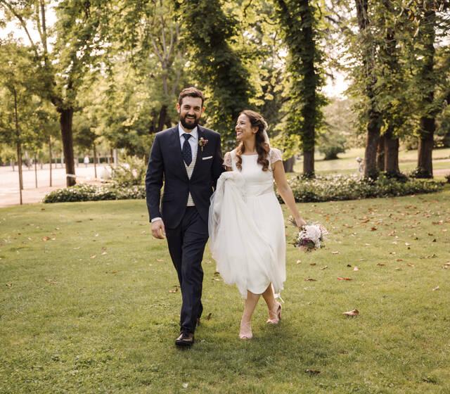 Primer paseo de casados