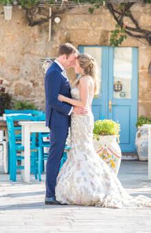 Bruidspaar M&R Marzamemi