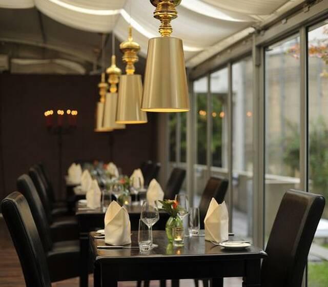 Beispiel: Restaurant, Foto: Hotel Rolandsburg.