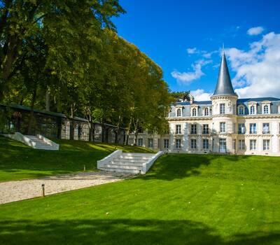Château d'Hardricourt - la montée des marches