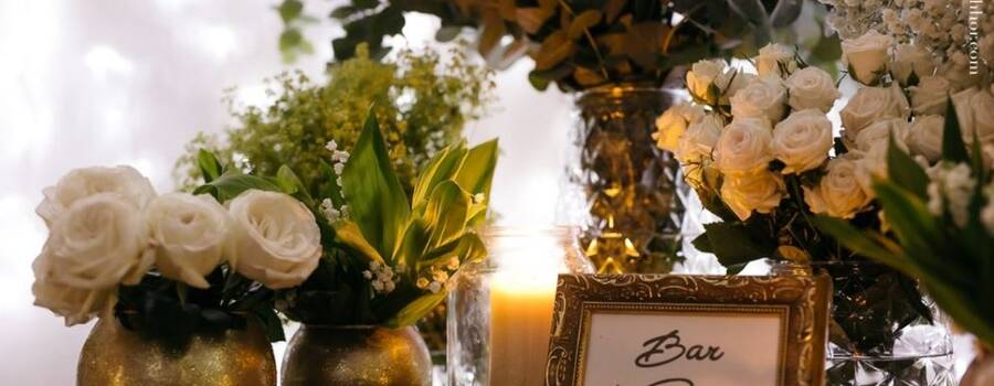 Bar à fleurs