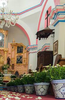 La Capilla para la Ceremonia Perfecta. -Hacienda Buenavista.