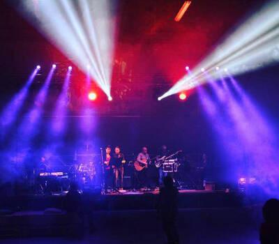 Illuminazione: Palco Live