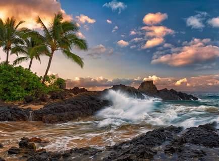 Inlandflug Kaua'i nach Maui