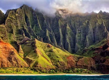 Inlandflug O'ahu nach Kaua'i