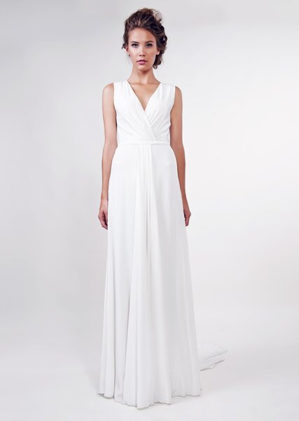 Suknia ślubna z kolekcji Anna Kara 2013, model: Sava