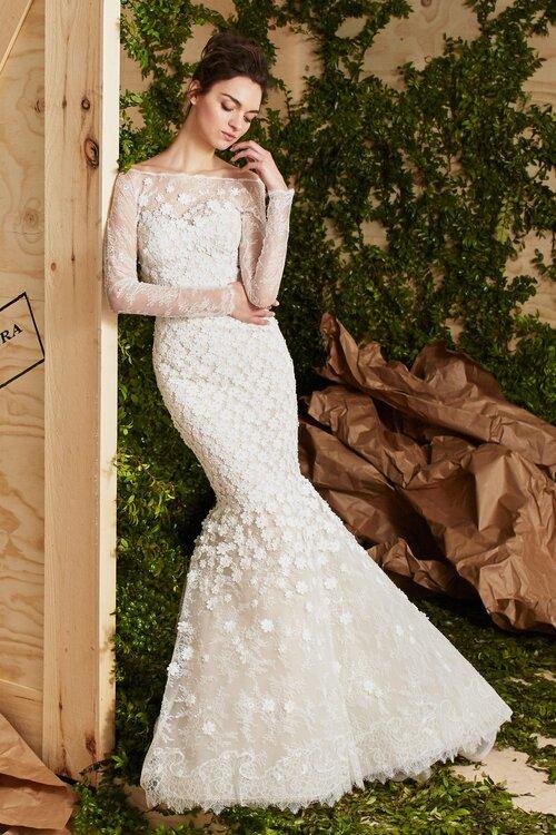 Vestidos de novia Carolina Herrera 2017 romanticismo y elegancia en