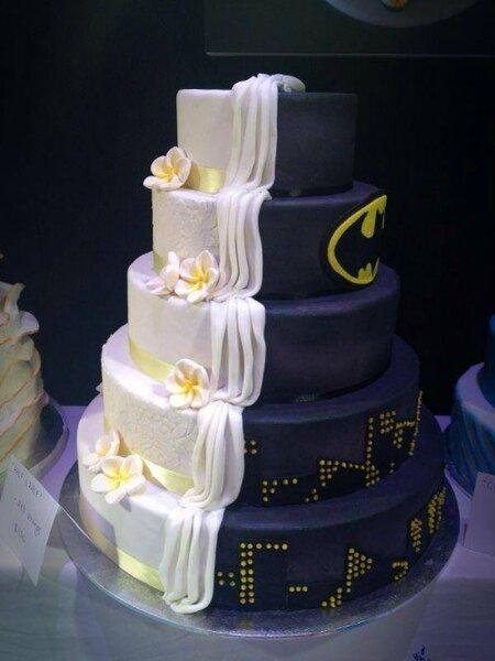 Tort weselny, inspiracje filmowe: Batman, Foto: Batman.jpg