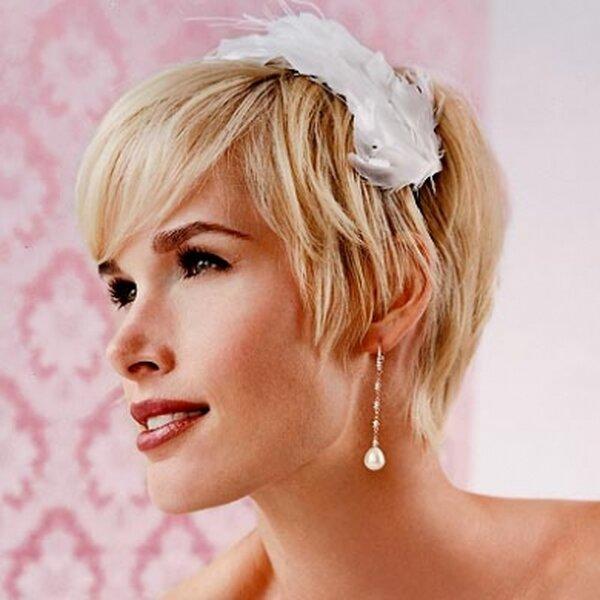 peinados de boda en pelo corto