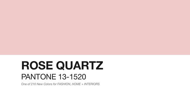 Rose Quartz: uma das cores Pantone para 2016.