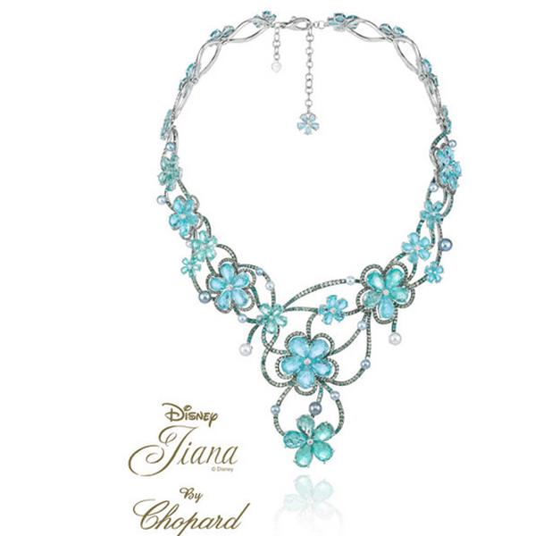 Joyas chopard inspiradas en las princesas de disney for Piedra preciosa turquesa