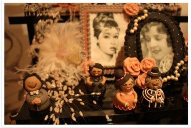 Ideas para la mesa de dulces y postres de una boda