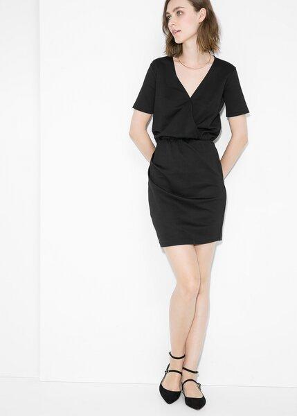 Черное короткое платье Mango 2015, (PUNA) 31067574.