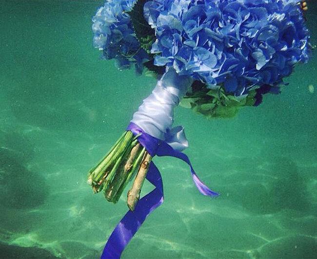 El toque azul que necesitas para el d a de tu boda - Flowers by bornay ...