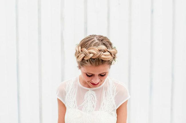Penteados de noiva com tranças