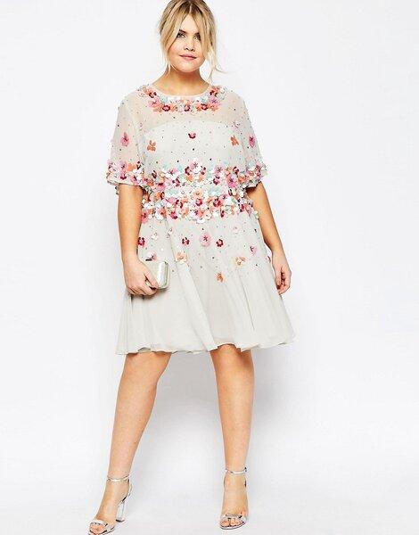 25 robes pour invit es rondes trouvez le style parfait pour un mariage au printemps - Robe champetre pour mariage ...
