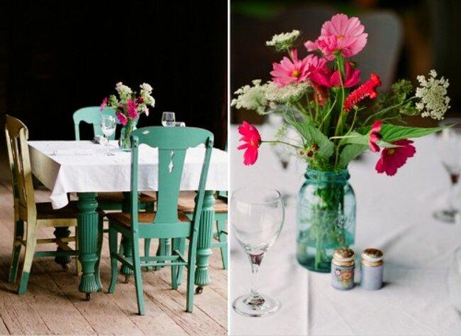 Tips de color turquesa para decoraci n de boda - Tips de decoracion ...