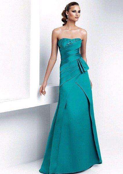 Vestido longo Pronovias.
