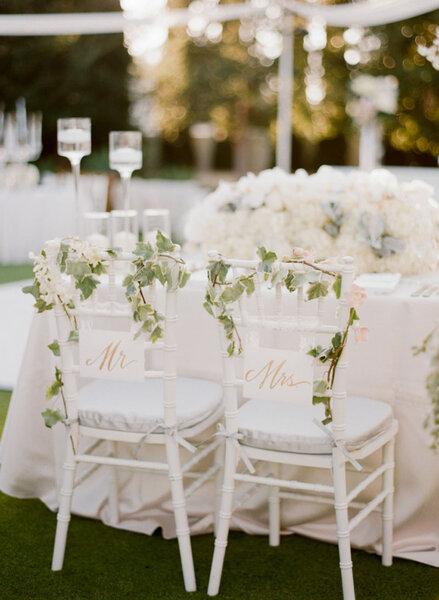 Toma nota de estas ideas de decoraci n de sillas para boda for Sillas para matrimonio