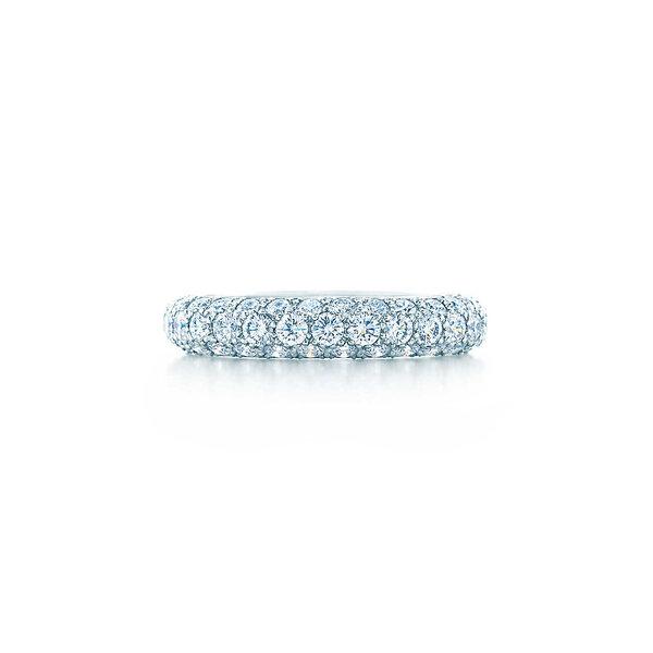 Three-row band ring, Tiffany and Co