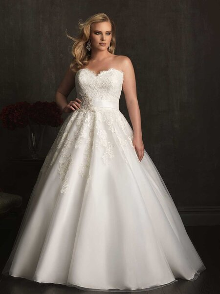Style W320, Allure Bridals.