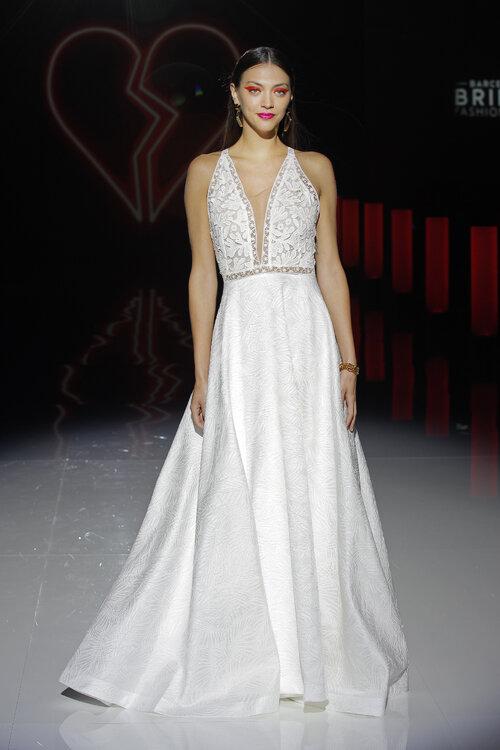 Sehen Sie hier 40 neue Neckholder-Brautkleider! Sinnliche ...