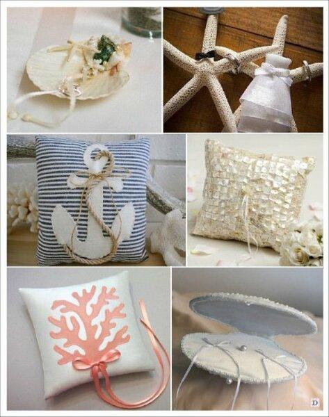 D corations de mariage sur le th me de la mer - Decoration theme mer a faire soi meme ...